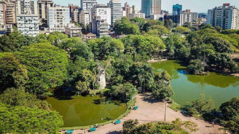 Parque Moinhos de Vento em Porto Alegre
