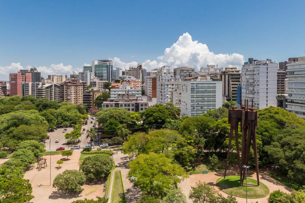 Moinhos de Vento é um dos bairros de luxo em Porto Alegre