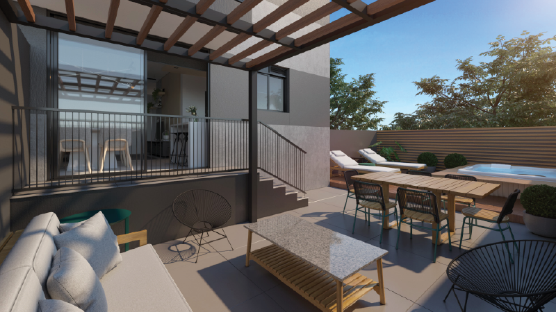 TGD e a tendência do apartamento Garden