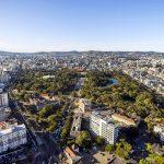 Vista aérea de Porto Alegre