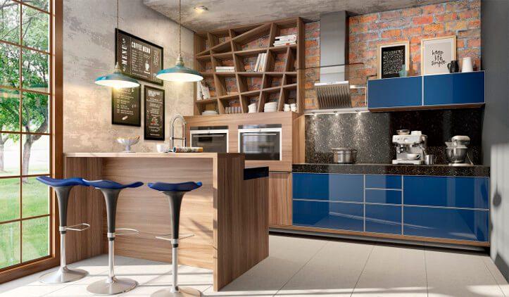 espaço gourmet moderno