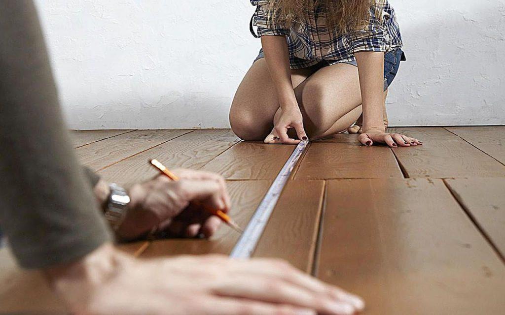 Verifique a medida dos móveis e da casa nova
