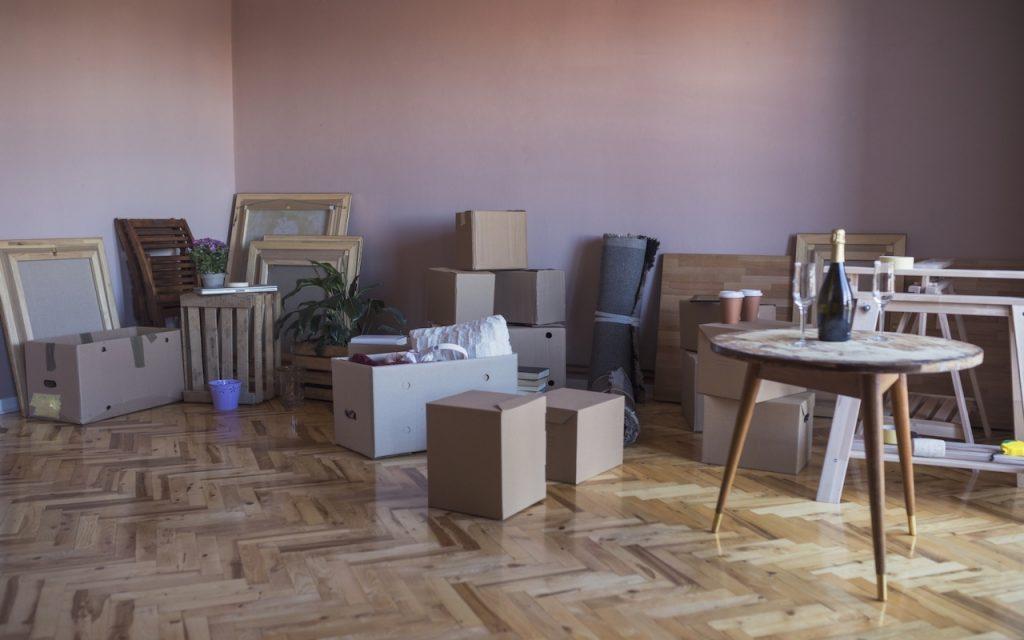 Mudança de apartamento