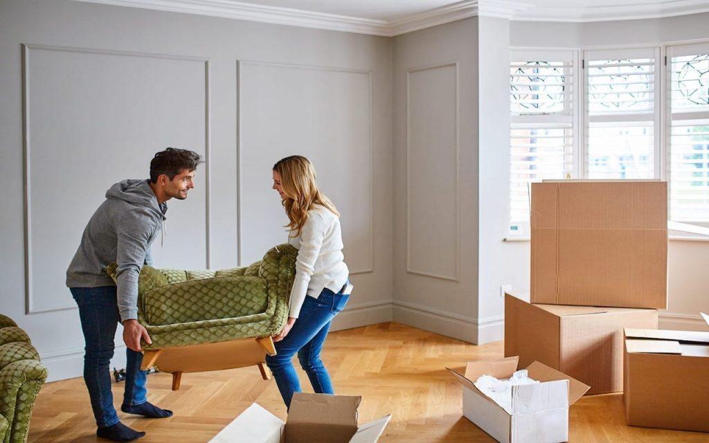 Organizar Objetos em caixa para mudança de apartamento