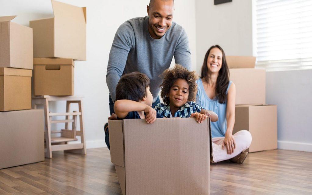 planejar e organizar uma mudança de apartamento