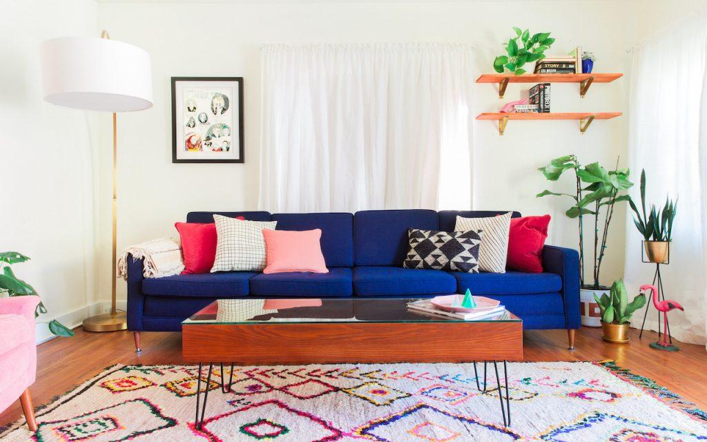 Home Staging ambiente iluminado